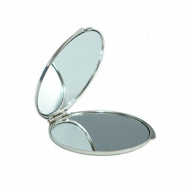 compact mirror inside