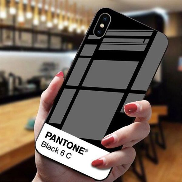 tempered glass pantone iphone case smartphone case mysilicondreams for iphone 7 black 311106 1024x1024@2x opt